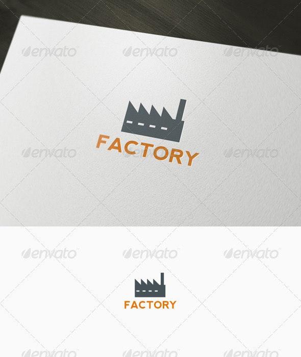 Factory Logo - Buildings Logo Templates