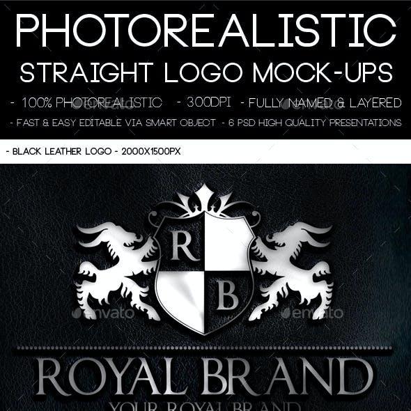 Photorealistic Logo Mock-Ups Set
