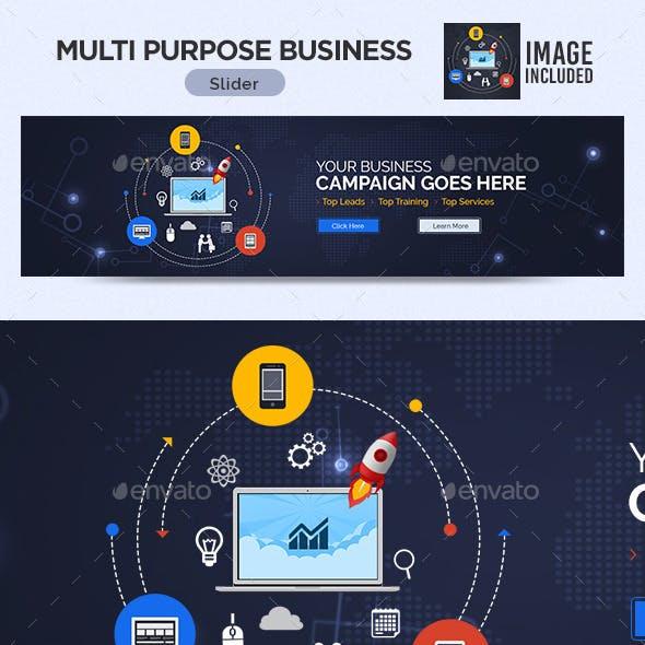 Multi Purpose Business Slider