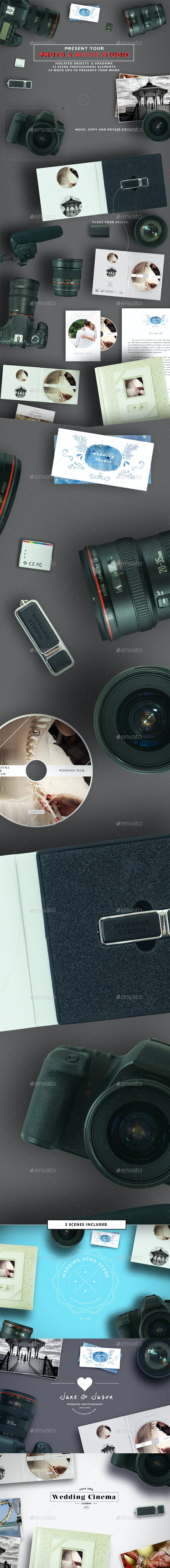 DSLR Photo / Video Mock Up Creator - Hero Images Graphics