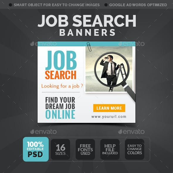 Employment  Agency Banners