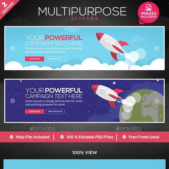 Multipurpose Sliders