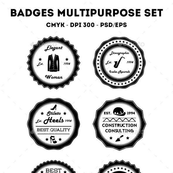 Badges Multipurpose Set
