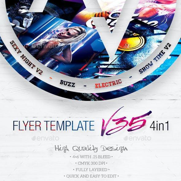 Flyer Bundle Vol35 - 4 in 1