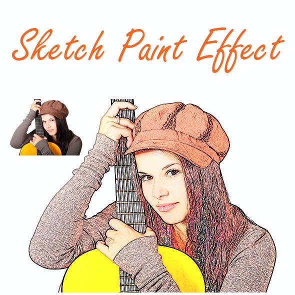Sketch Paint Action