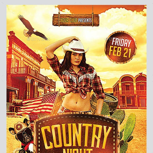 Country Flyers Bundle