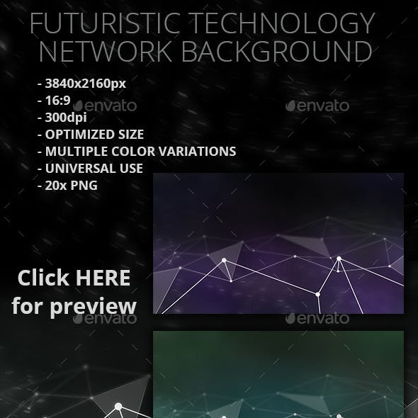 20 Futuristic network backgrounds