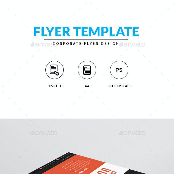 Flyer for Web Designer