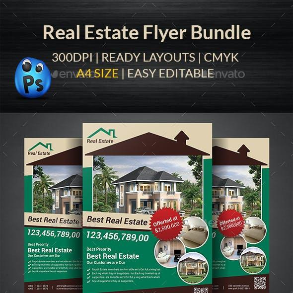 Real Estate Flyer Bundle Templates