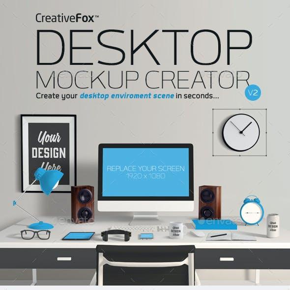 Desktop Mockup Creator V2