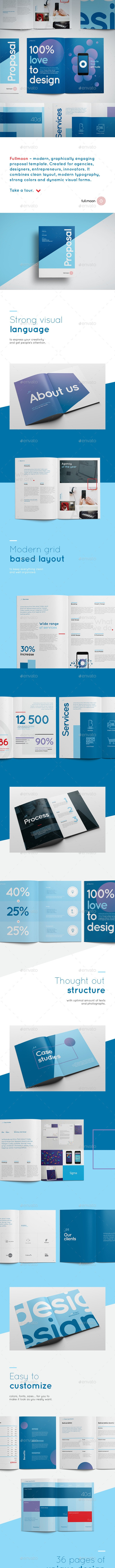 Fullmoon Creative Proposal - Proposals & Invoices Stationery