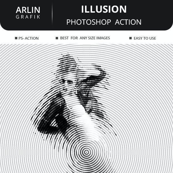 Illusion Photoshop Action