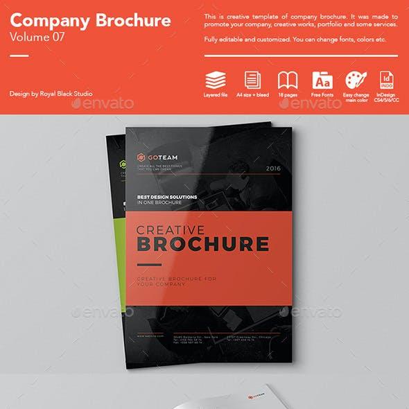 Company Brochure Vol.7