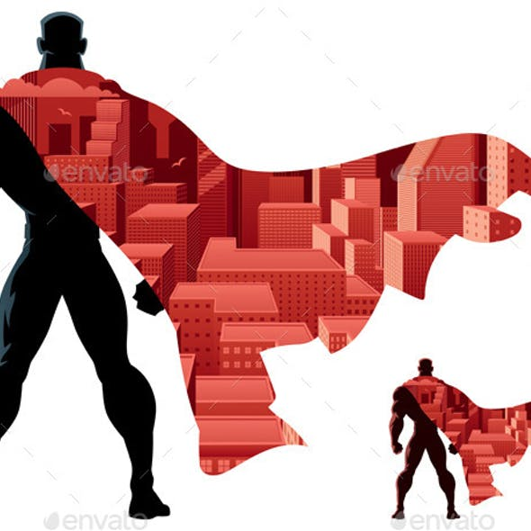 Abstract Superhero