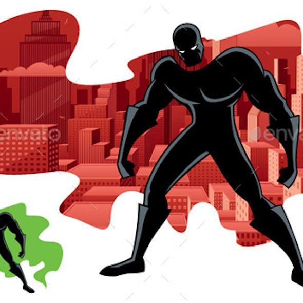 Abstract Superhero 2