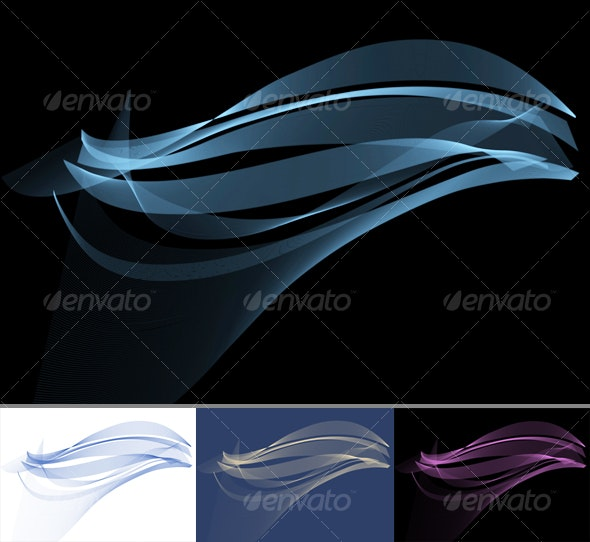 Air Wave Background - Abstract Backgrounds
