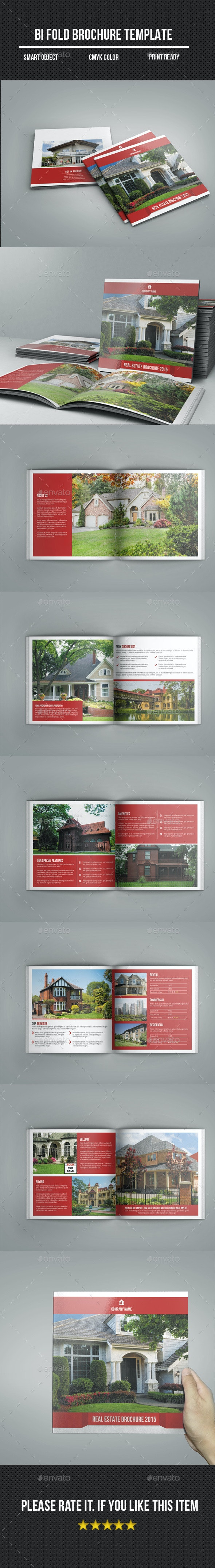 Square Bi-Fold Real Estate Brochure - Corporate Brochures