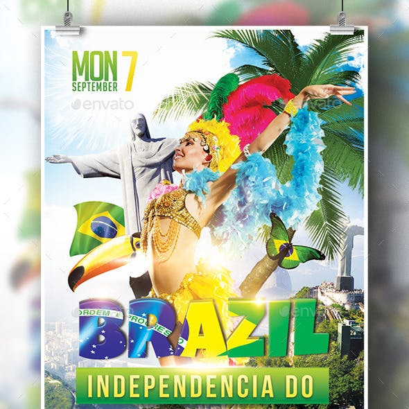 Brazil Indepedencia Do Template