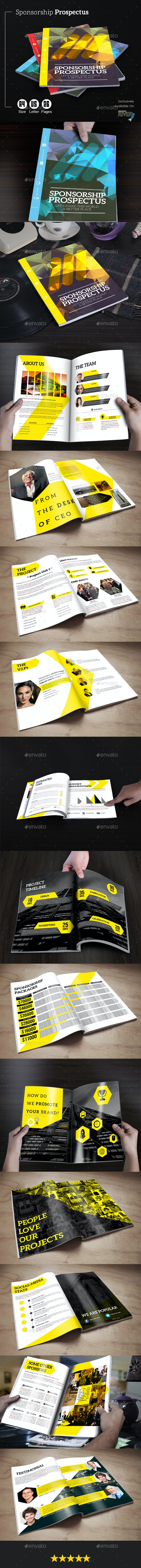 Sponsorship Prospectus - Proposals & Invoices Stationery