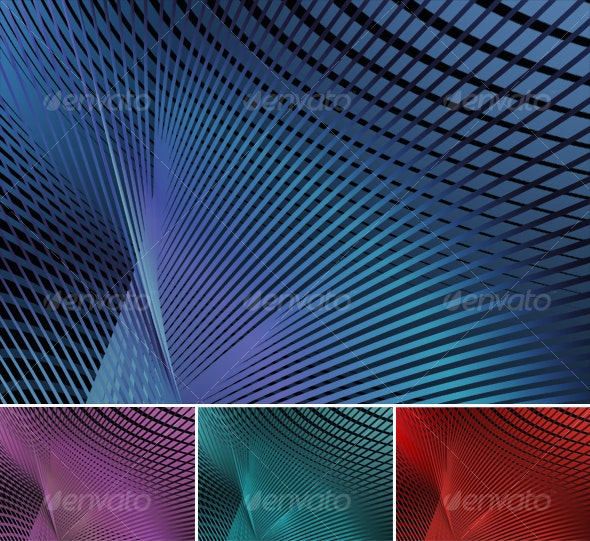 Sweeps Background 4 Colors - Abstract Backgrounds