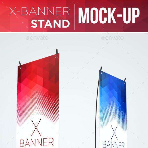 X-Banner Mock-Up