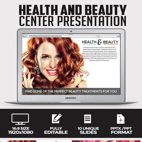 Health and Beauty Center Presentation