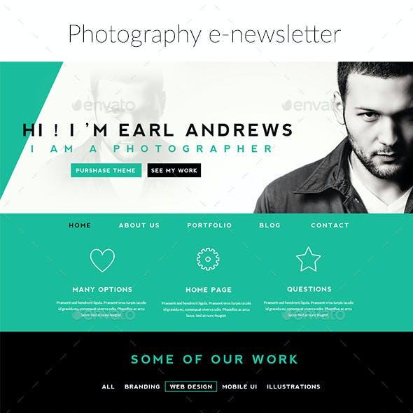 Photographer e-newsletter