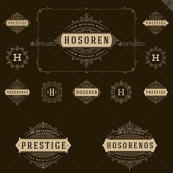 25 Ornaments Logotypes and Monograms