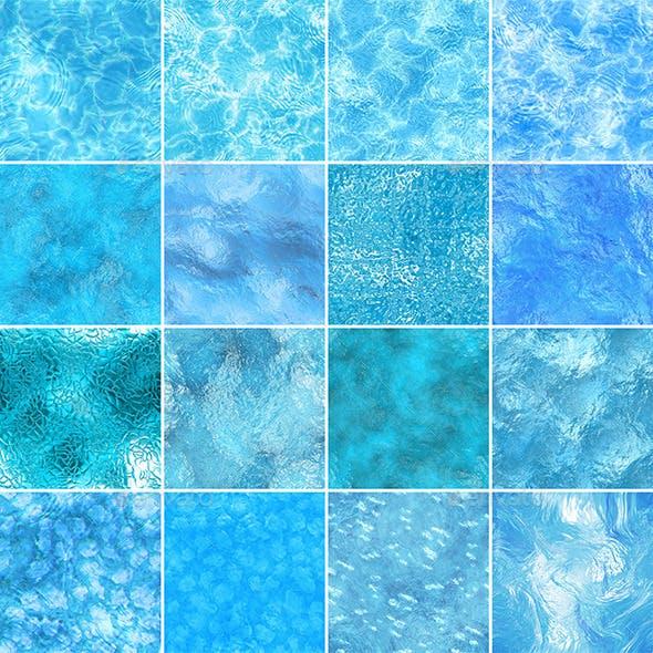 16 Water Seamless Textures