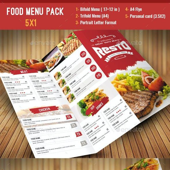 Food Menu Pack 2