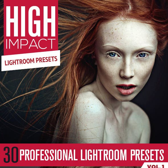 30 High Impact Lightroom Presets Vol.1