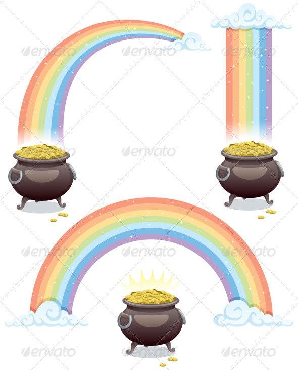 Pot & Rainbow - Seasons/Holidays Conceptual