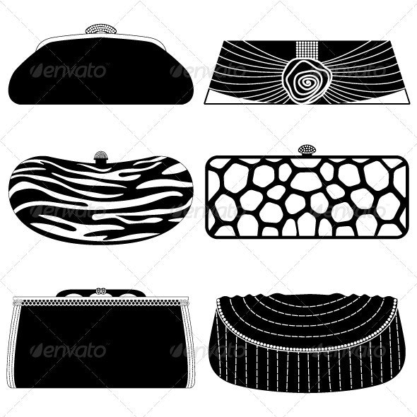 Handbag Purse Design for Woman Female - Man-made Objects Objects