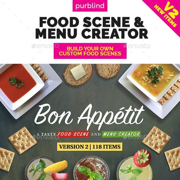 Food Scene / Menu Creator (Bon Appetit)