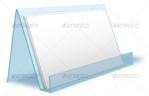 Card Holder Mockup - Miscellaneous Print