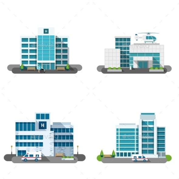 Hospital Building Set