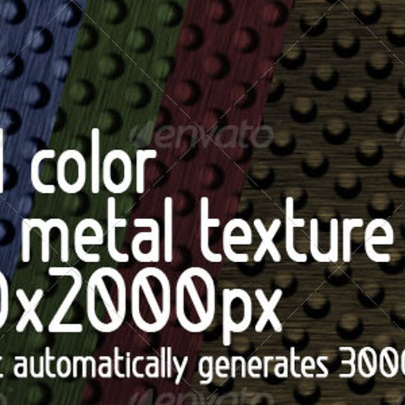 8 in 1 color Hump Metal Texture +  Action