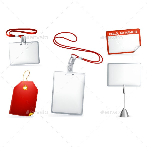 Empty Tags Illustration - Miscellaneous Vectors