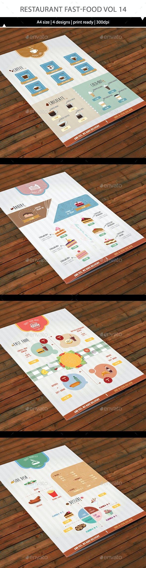 Restaurant Fast-Food Vol 14