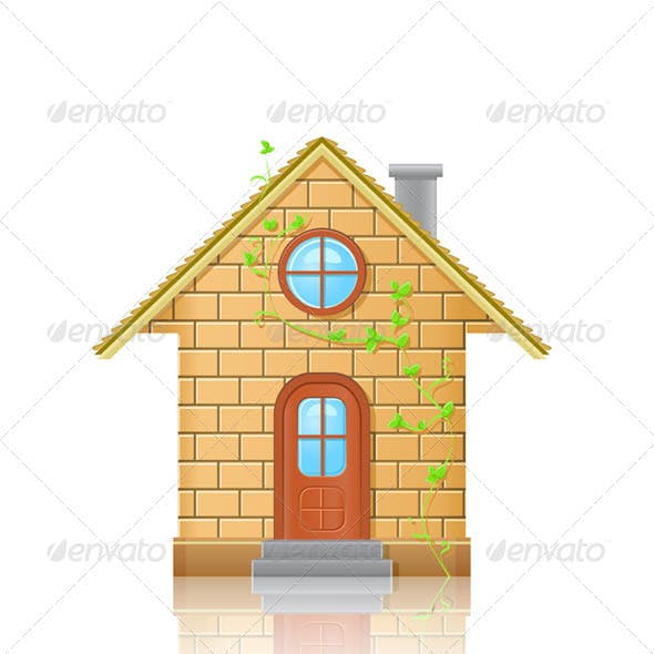 Small House Illustration