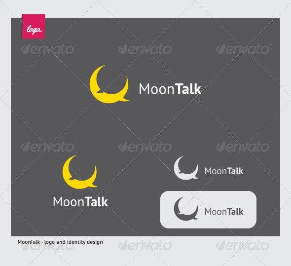 Moon Talk - Symbols Logo Templates