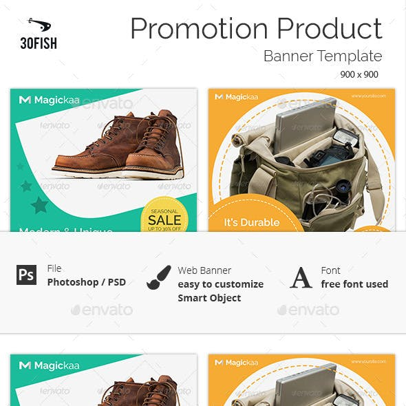 Promotion Product Sale Banner