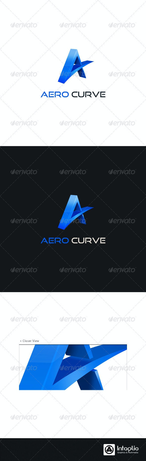 """Letter """"A"""" Logo Template - Letters Logo Templates"""