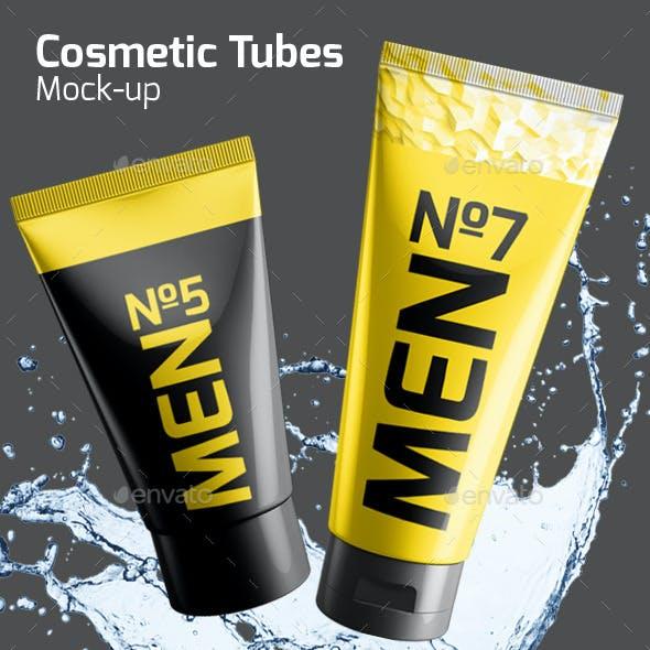 Cosmetic Tube Mock-up