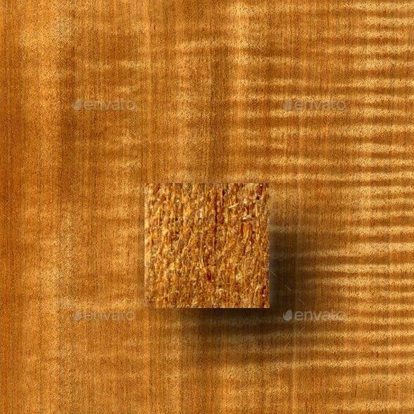 Figured Douka (Makore) Wood Texture