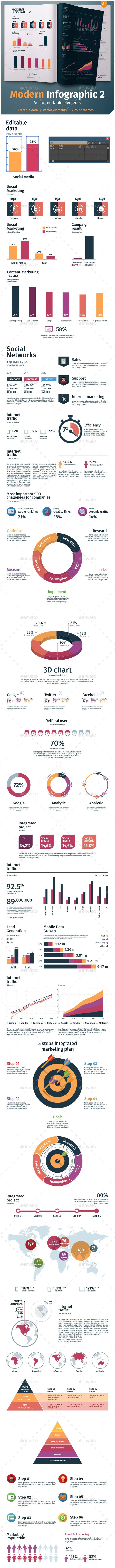 Modern infographics 2 - Infographics