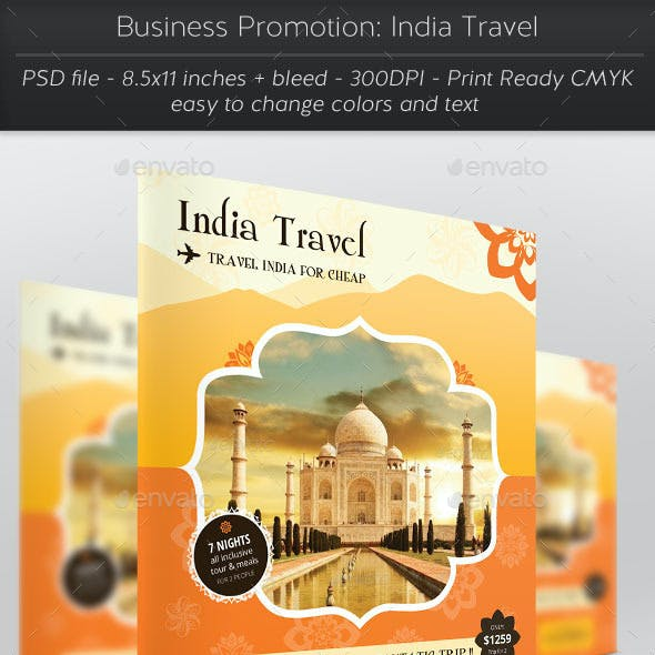 Business Promotion: India Travel