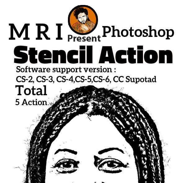 Stencil Action