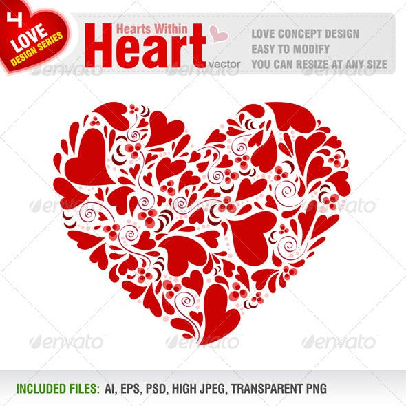 Hearts Within Heart