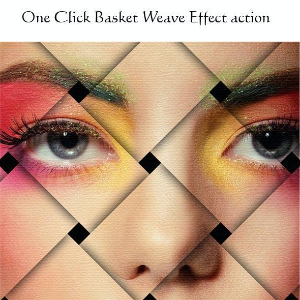 Basket Weave Effect